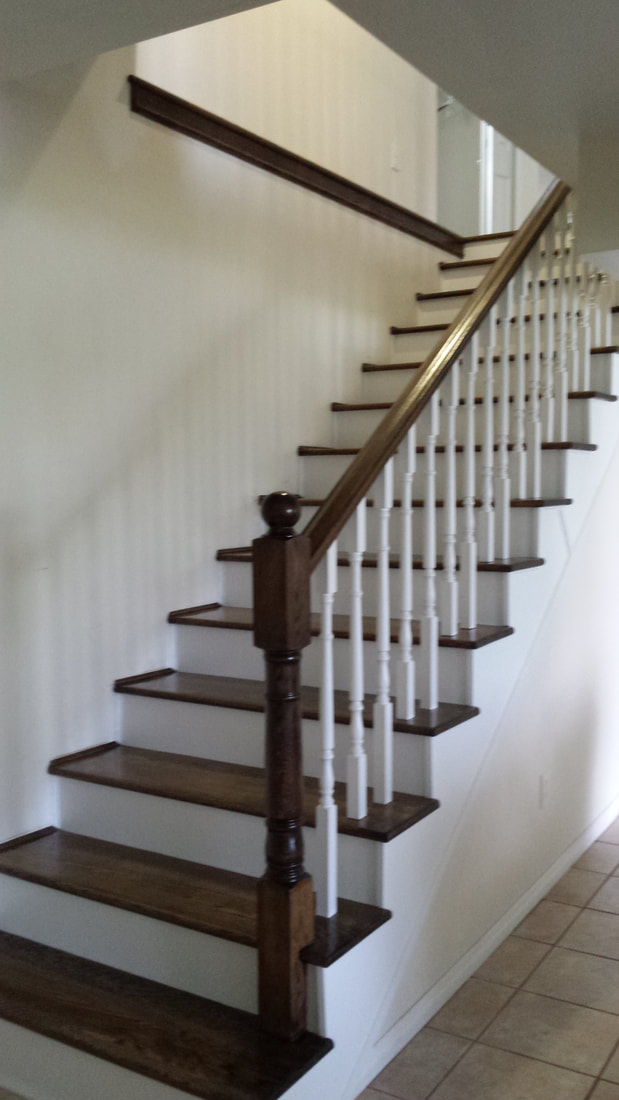 Stairs Amp Railing Norm S Hardwood Floors Amp Carpentry